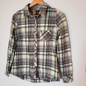 BROWNING FLANNEL / SZ S / BUTTON DOWN